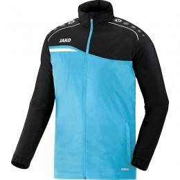 JAKO Children's All Weather Jacket Competition 2.0 aqua-black