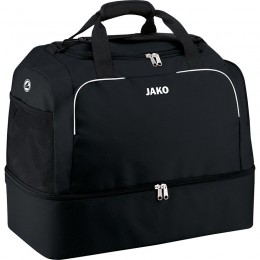 Спортивная сумка JAKO Classico с нижним отсеком черного цвета