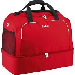 Спортивная сумка JAKO Classico с нижним отделением красного цвета