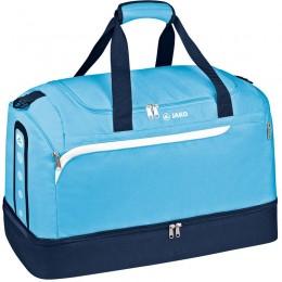 Производительность спортивной сумки JAKO с нижним отсеком aqua-white-Navy