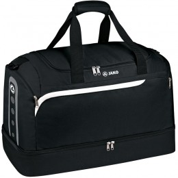 Производительность спортивной сумки JAKO с нижним отсеком черного цвета